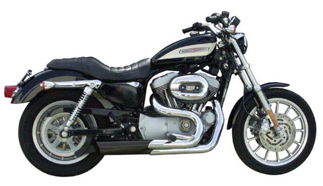 Patriot Defender Exhaust System for Harley Davidson Sportster Models
