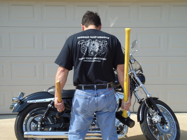 Scott Evans and his 2004 Sportster