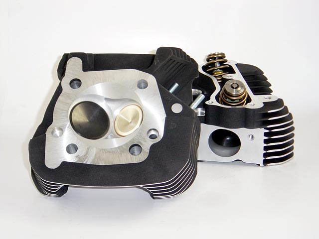 HAMMER PERFORMANCE SLEDGE CNC Ported 2006 XL1200 Sportster Cylinder Heads