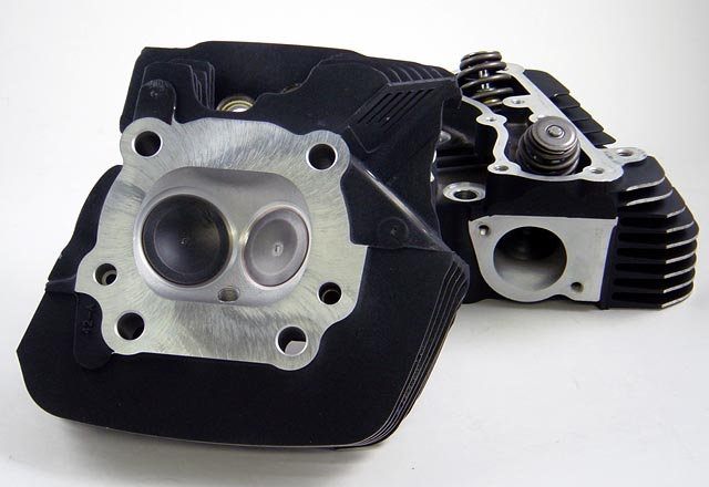CNC Ported Harley Davidson Twin Cam Heads