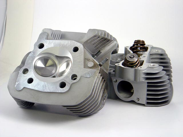 HAMMER PERFORMANCE CNC Ported Buell XB Cylinder Heads