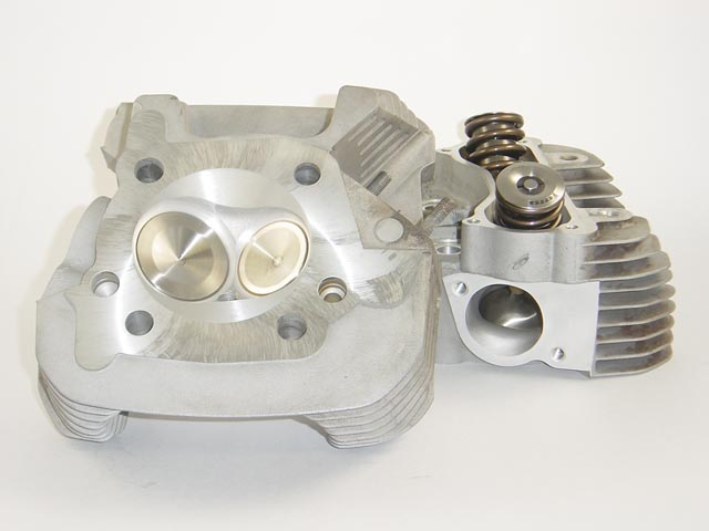 HAMMER PERFORMANCE SLEDGE CNC Ported Buell XB Cylinder Heads