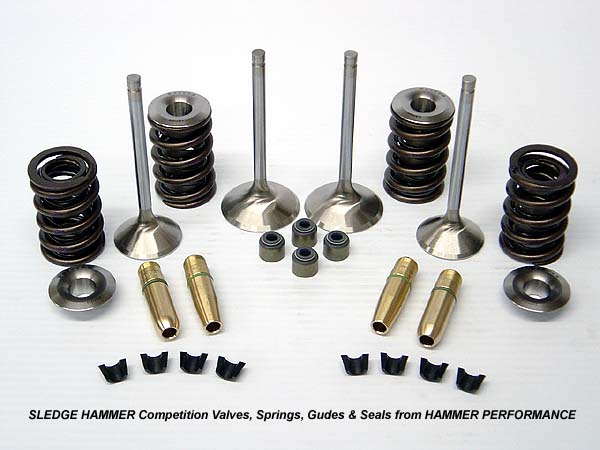 High Performance Valves and Springs for Harley Davidson Sportster and Buell Models
