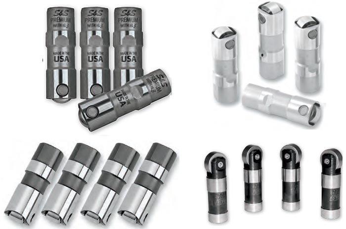 High Quality Tappets Lifters for Harley Davidson Sportster and Buell Models from S&S Cycle
