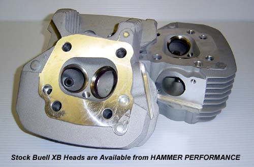 High Performance XB Cylinder Heads for Harley Davidson XL Sportster and Buell Models