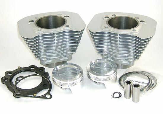 883 to 1250 Conversion Kit in Silver