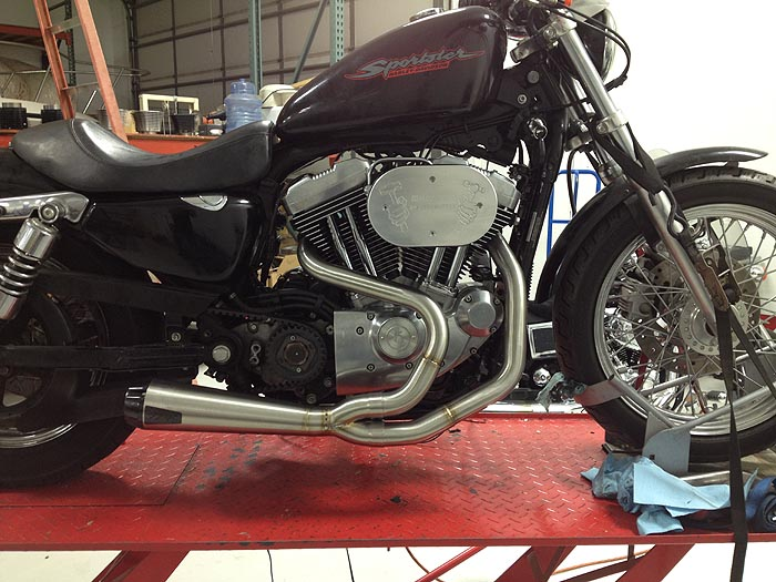 Hammer Performance Picture Of Two Brothers Racing Ps For Xl Sportster: Best Slip On Exhaust For Sportster At Woreks.co